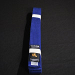 Tokon Martial Arts Supply Blue Belt 2