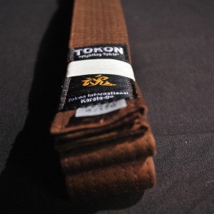 Tokon Martial Arts Supply Brown Belt 1