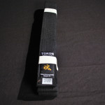 Tokon Martial Arts Supply Cotton Black Belt 2