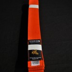 Tokon Martial Arts Supply Orange Belt 2