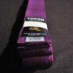 Tokon Martial Arts Supply Purple Belt 1