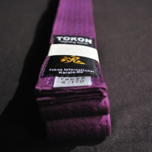 Tokon Martial Arts Supply Purple Belt 1