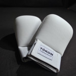 Tokon Martial Arts White AAU Sparring Gloves