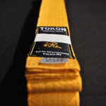 Tokon Martial Arts Supply Yellow Belt 2